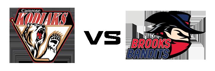 Camrose Kodiaks vs Brooks Bandits
