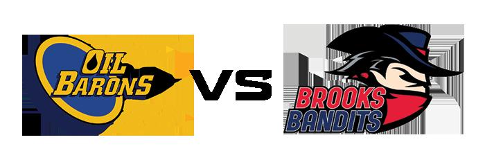 Fort McMurray Oil Barons vs Brooks Bandits