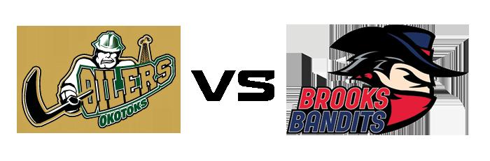 Okotoks Oilers vs Brooks Bandits