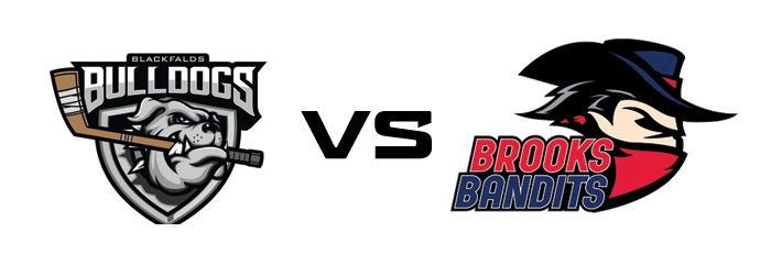 Blackfalds Bulldogs vs Brooks Bandits