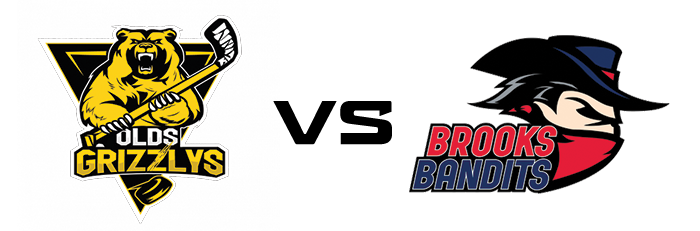 Olds Grizzlys vs Brooks Bandits