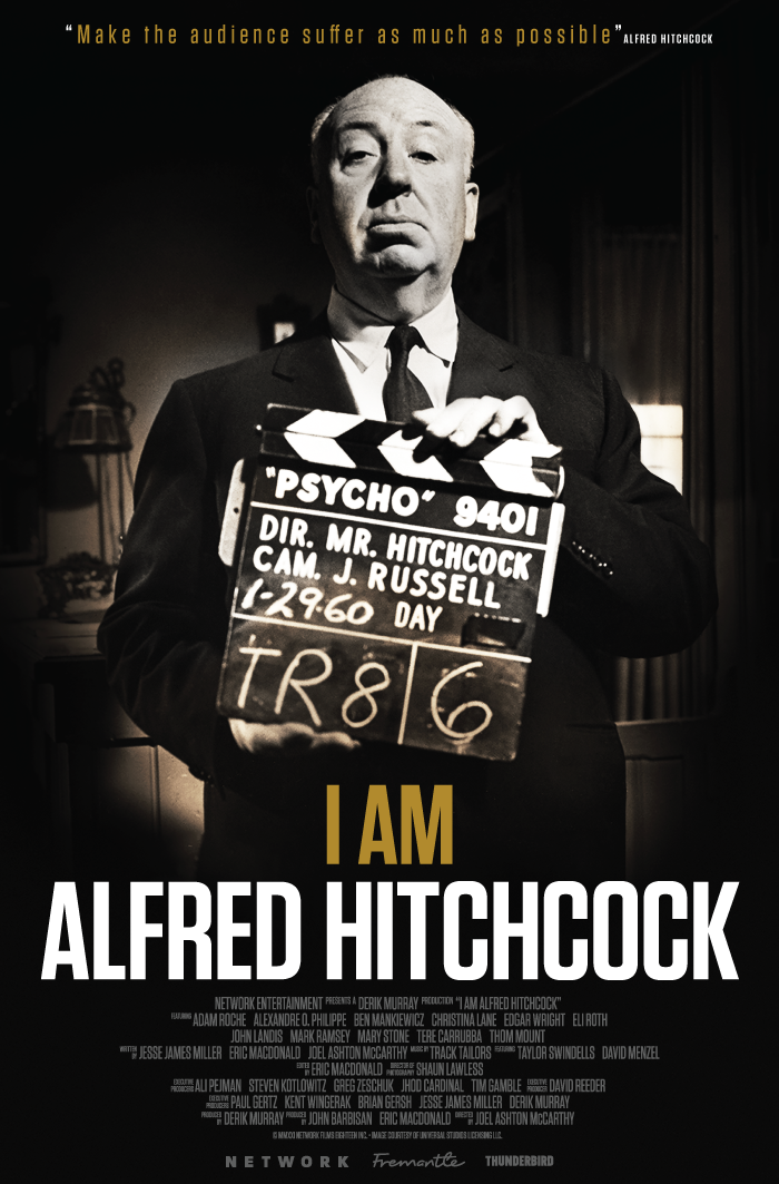 I Am Alfred Hitchcock (With or w/out Rear Window Double Bill Option)