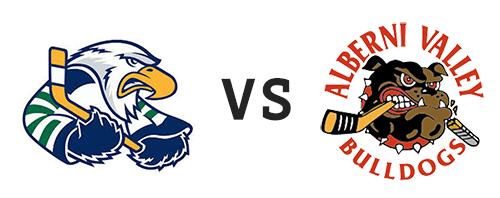 Surrey Eagles vs Alberni Valley Bulldogs