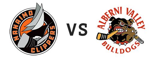 Nanaimo Clippers vs Alberni Valley Bulldogs