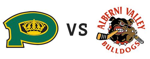 Powell River Kings vs Alberni Valley Bulldogs