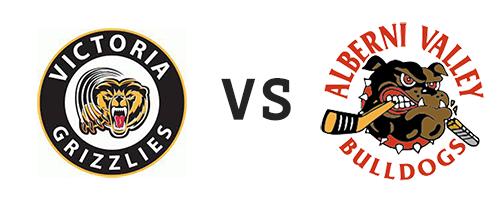 Victoria Grizzlies vs Alberni Valley Bulldogs