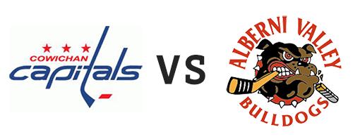 Cowichan Valley Capitals vs Alberni Valley Bulldogs