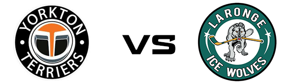 Yorkton Terriers vs La Ronge Ice Wolves