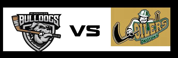 Blackfalds Bulldogs vs Okotoks Oilers