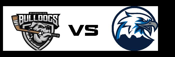 Blackfalds Bulldogs vs Canmore Eagles
