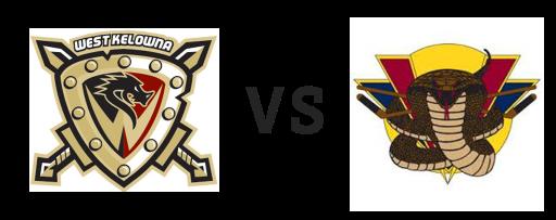 West Kelowna Warriors vs Vernon Vipers