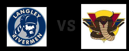 Langley Rivermen vs Vernon Vipers