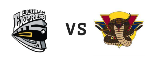Coquitlam Express vs Vernon Vipers