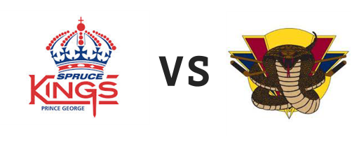 Prince George Spruce Kings vs Vernon Vipers