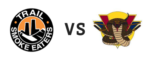 Trail Smoke Eaters vs Vernon Vipers