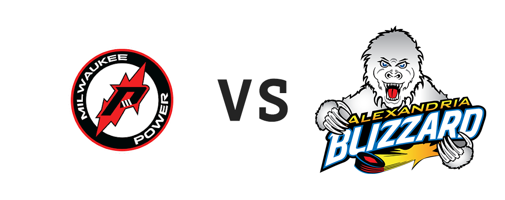 Milwaukee Power vs Alexandria Blizzard