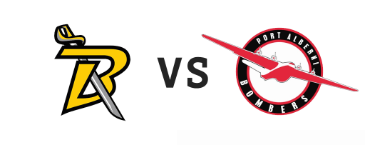 Nanaimo Buccaneers vs Port Alberni Bombers