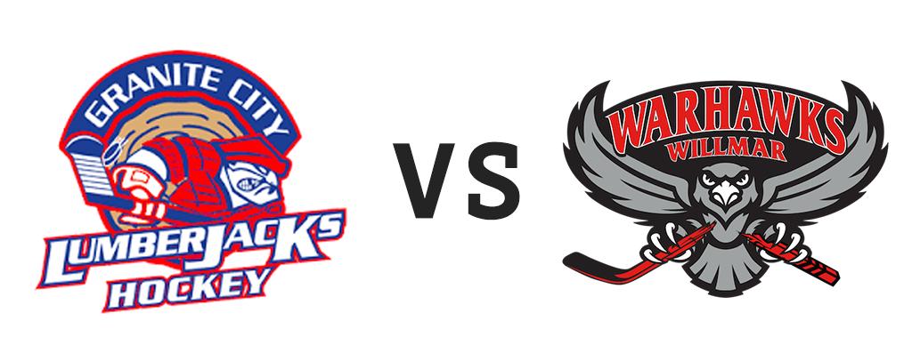 Granite City Lumberjacks vs Willmar Warhawks
