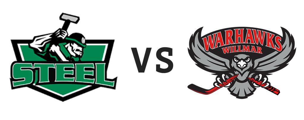 New Ulm Steel vs Willmar Warhawks