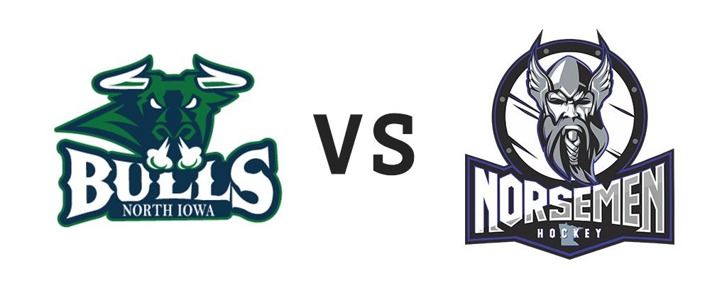 North Iowa Bulls vs St. Cloud Norsemen