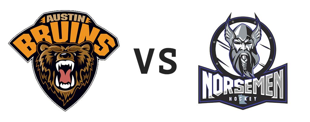 Austin Bruins vs St. Cloud Norsemen