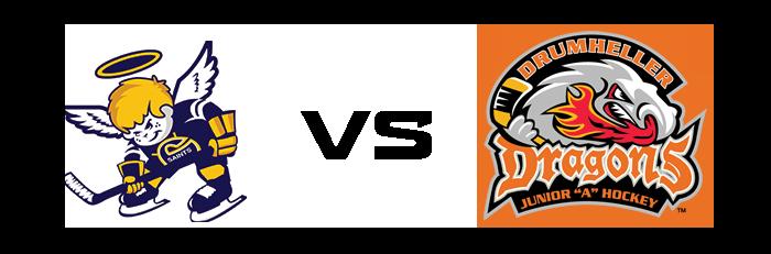 Spruce Grove Saints vs Drumheller Dragons