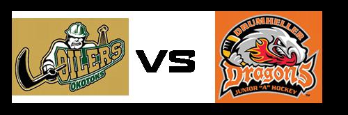 Okotoks Oilers vs Drumheller Dragons