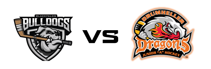 Blackfalds Bulldogs vs Drumheller Dragons