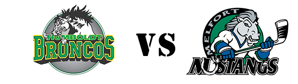 Humboldt Broncos vs Melfort Mustangs