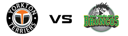 Yorkton Terriers vs Humboldt Broncos