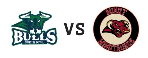 North Iowa Bulls vs Minot Minotauros