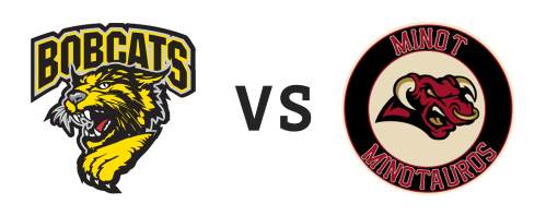 Bismarck Bobcats vs Minot Minotauros