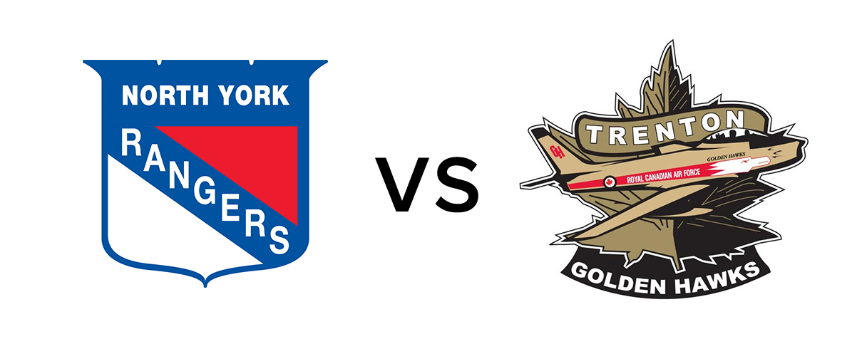 North York Rangers vs Trenton Golden Hawks