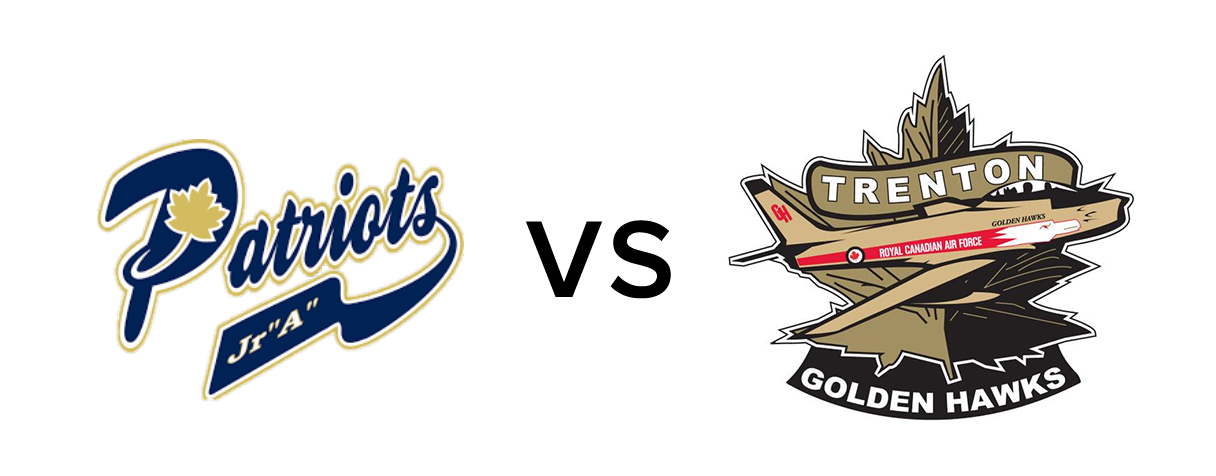 Toronto Patriots vs Trenton Golden Hawks