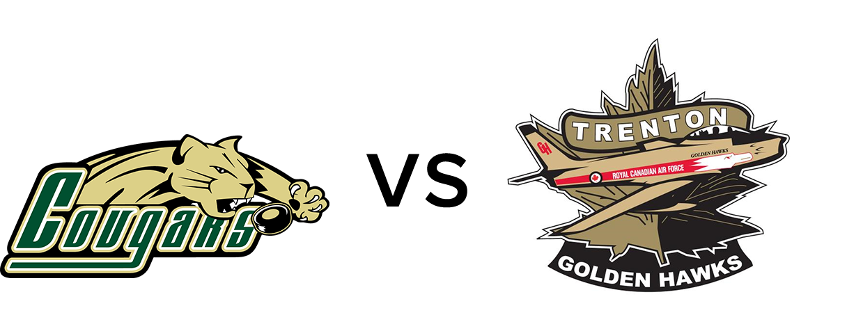 Cobourg Cougars vs Trenton Golden Hawks