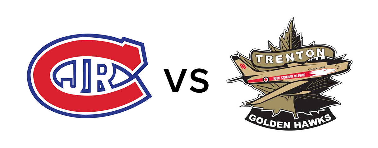 Toronto Jr. Canadiens vs Trenton Golden Hawks