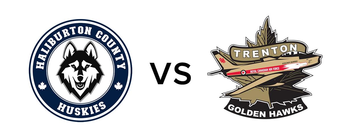 Haliburton Huskies vs Trenton Golden Hawks