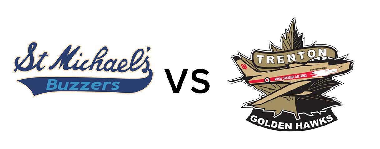 St. Michaels Buzzers vs Trenton Golden Hawks