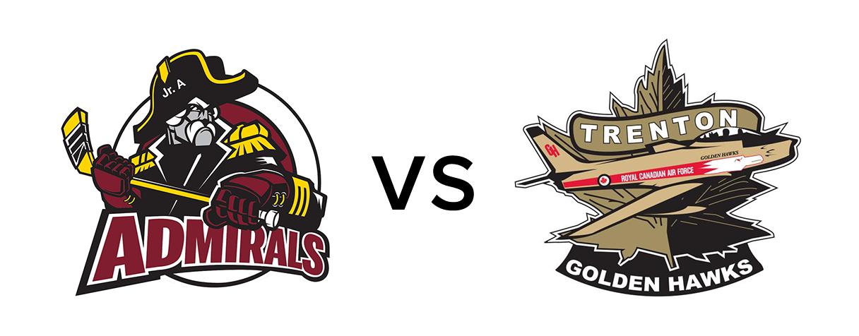 Caledon Admirals vs Trenton Golden Hawks