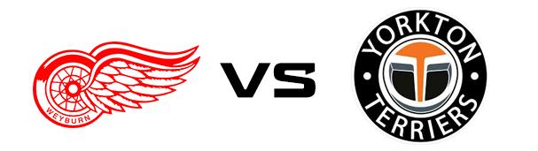 Weyburn Red Wings vs Yorkton Terriers
