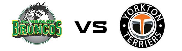 Humboldt Broncos vs Yorkton Terriers