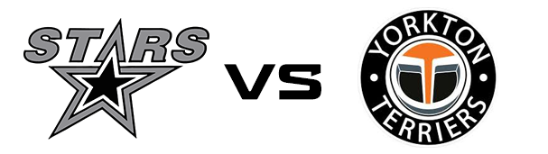 Battlefords North Stars vs Yorkton Terriers