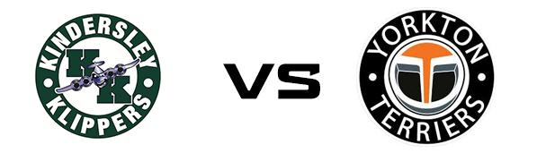 Kindersley Klippers vs Yorkton Terriers