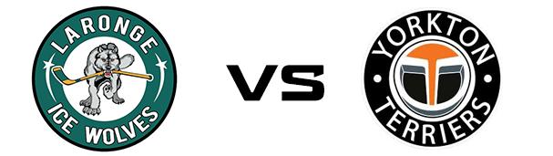 La Ronge Ice Wolves vs Yorkton Terriers