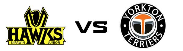 Nipawin Hawks vs Yorkton Terriers