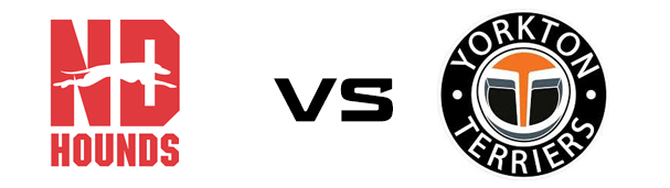 Notre Dame Hounds vs Yorkton Terriers