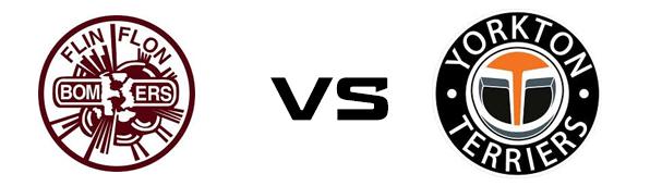 Flin Flon Bombers vs Yorkton Terriers