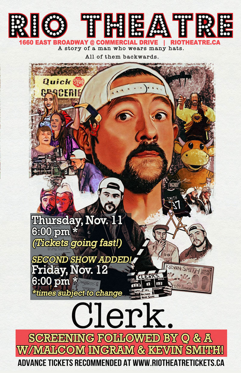 CLERK: The Kevin Smith Documentary by Malcolm Ingram With Post-Show Q&A Featuring Kevin Smith