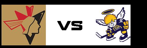 Bonnyville Pontiacs vs Spruce Grove Saints