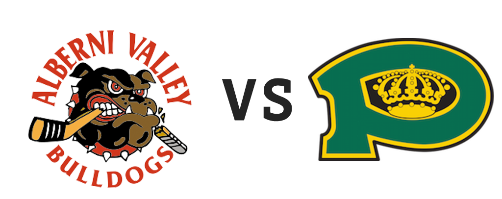 Alberni Valley Bulldogs vs Powell River Kings